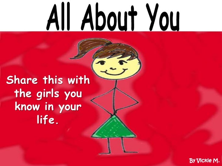 All About You - The Book