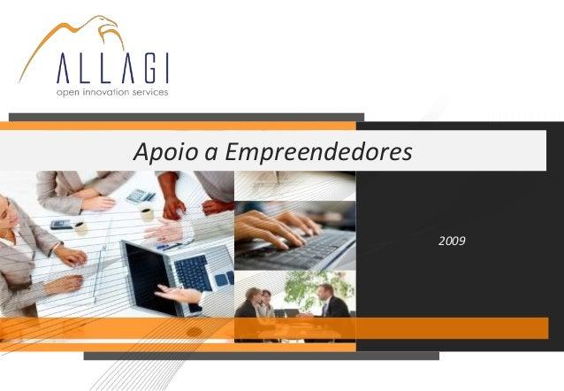 2009 Apoio a Empreendedores