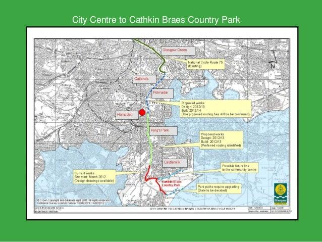 City Centre to Cathkin Braes Country Park