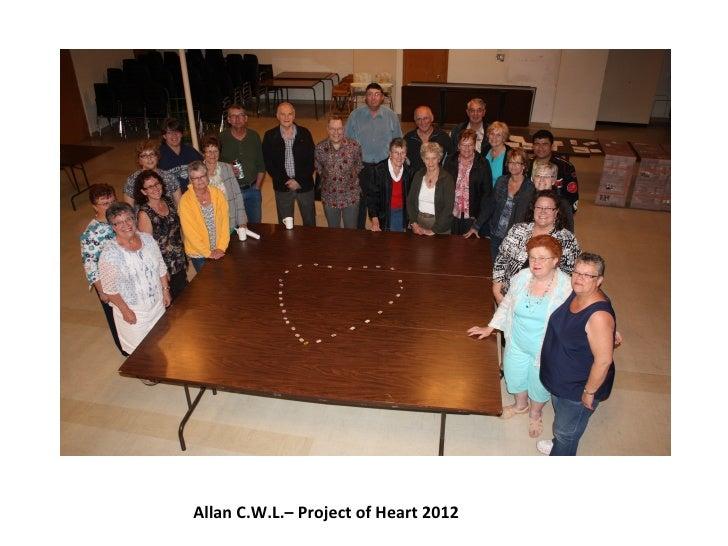 Catholic Women's League of Allan, Saskatchewan