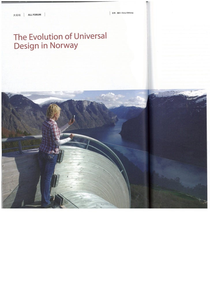 The Evolution of Universal Design in Norway