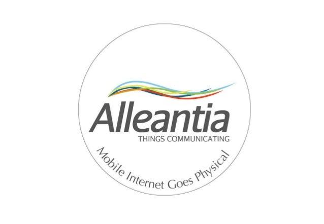Alleantia   le web startup competition 2012 ssh