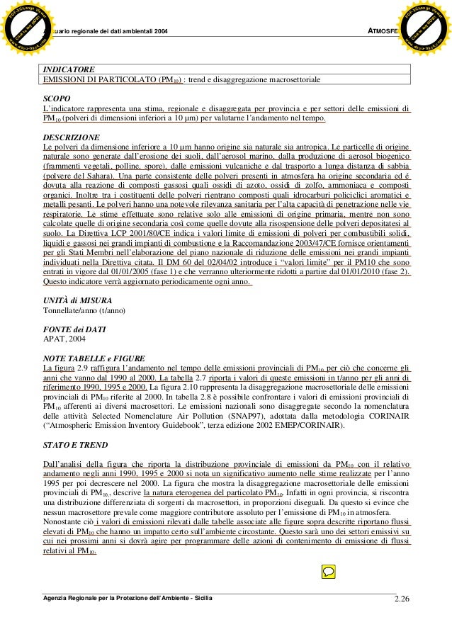 Allegati piano aria sicilia arpa 2004 righe copiate e incollate sul piano aria sicilia n 186 pages from all 17 arpa_04_atmosfera_26-75 (3)