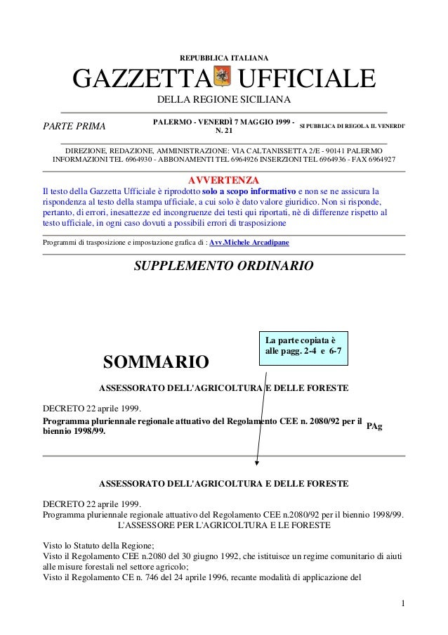Allegati piano aria sicilia programma pluriennale   righe copiate e incollate nel piano sicilia  75 all 12 programma pluriennale regionale 1998-99
