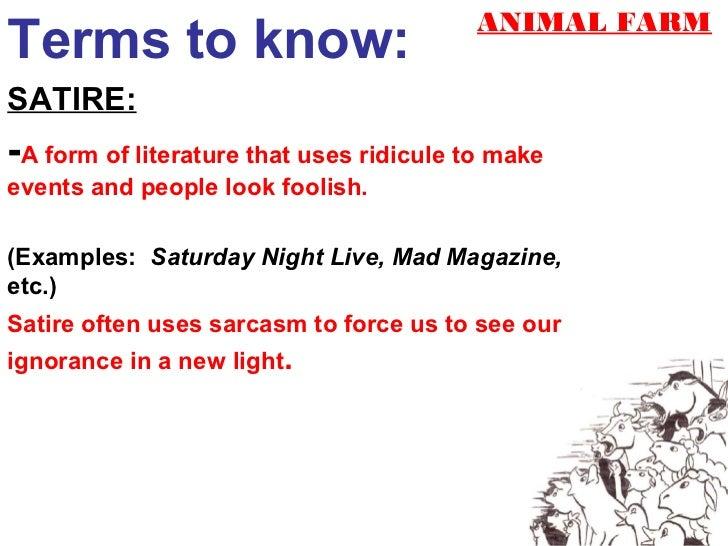 Satire Essays Examples