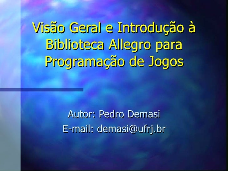 Biblioteca Allegro