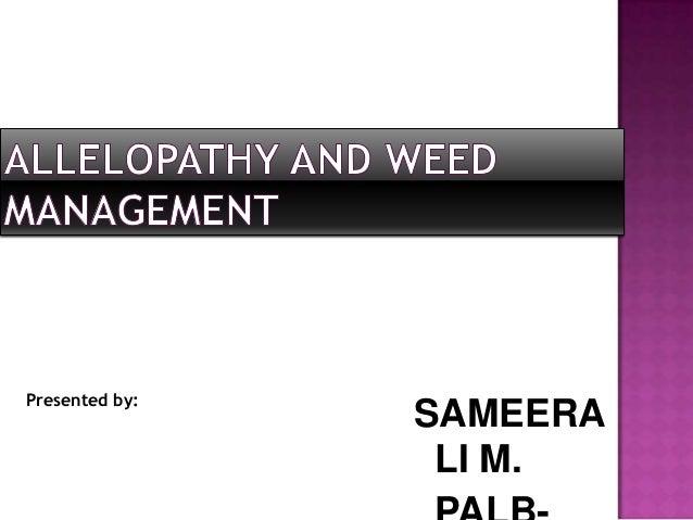 Presented by:  SAMEERA LI M.