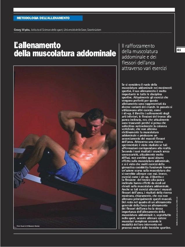 METODOLOGIA DELL'ALLENAMENTOGeorg Wydra, Istituto di Scienza dello sport, Università della Saar, SaarbrückenL'allenamento ...