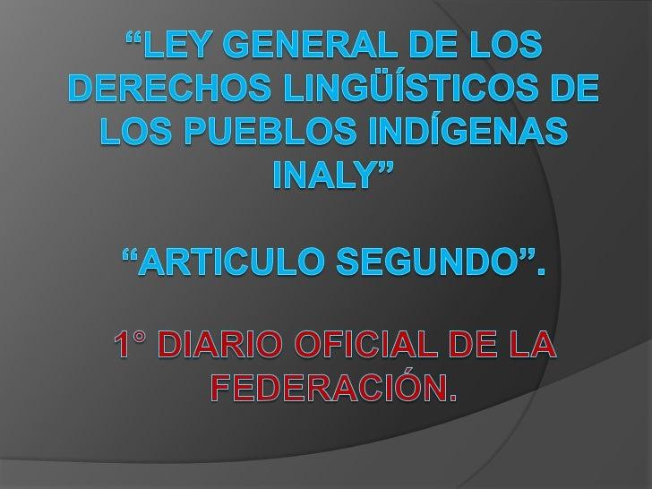 AllendeASPECTOS SOCIOCULTURALES DE LAS LENGUAS INDÍGENAS DE MÉXICO