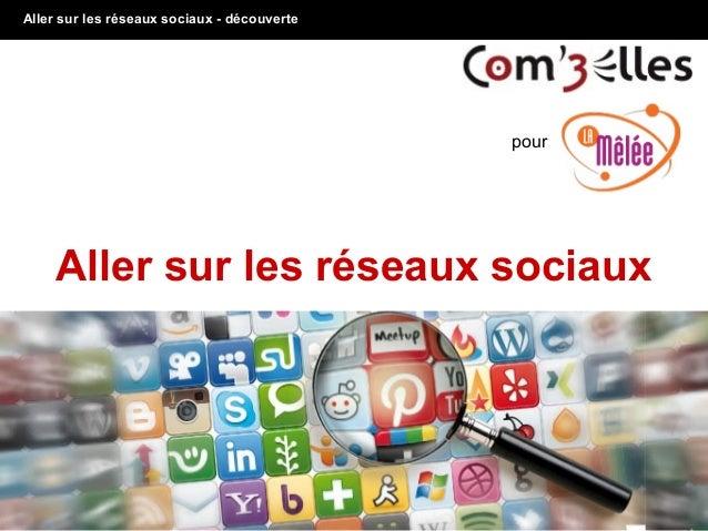 Aller sur les réseaux sociaux - découverte 1 Aller sur les réseaux sociaux pour