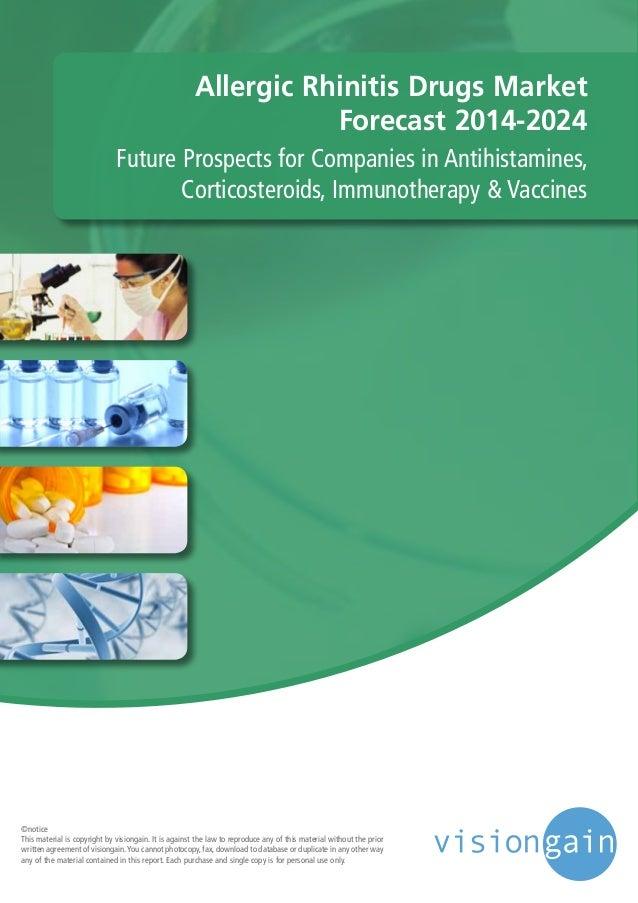 Allergic Rhinitis Drugs Market Forecast 2014-2024