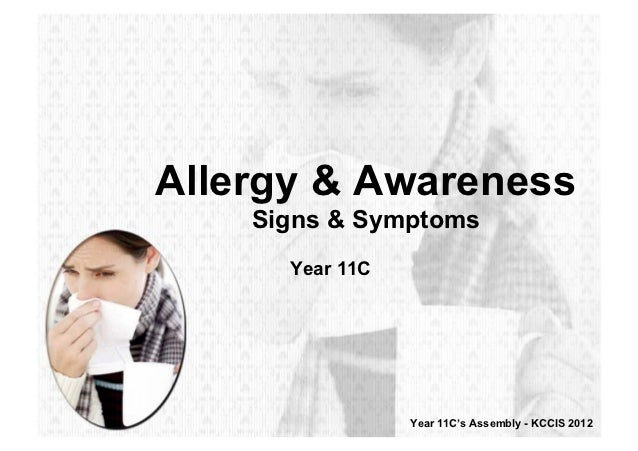Y11C - Allergy & Awareness