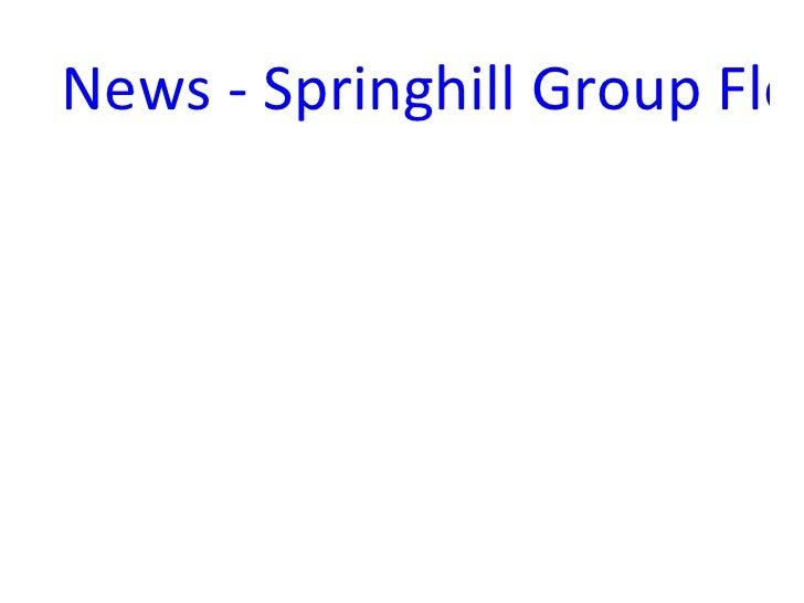 News - Springhill Group Flor