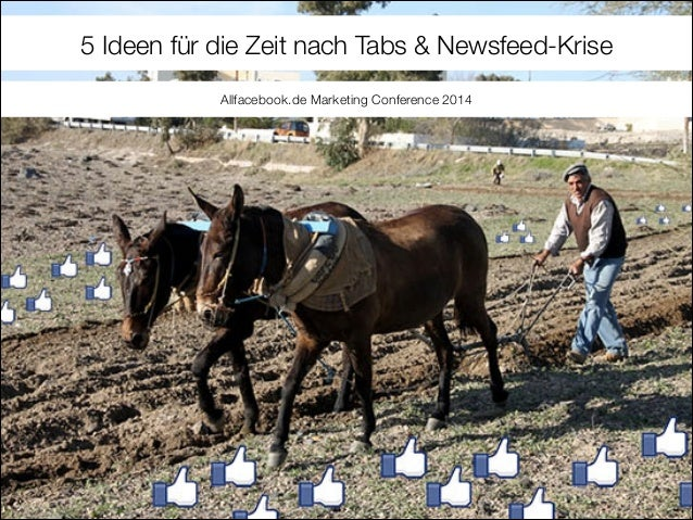 Facebook Marketing Apps: 5 Ideen für die Zeit nach Tabs & Newsfeed-Krise