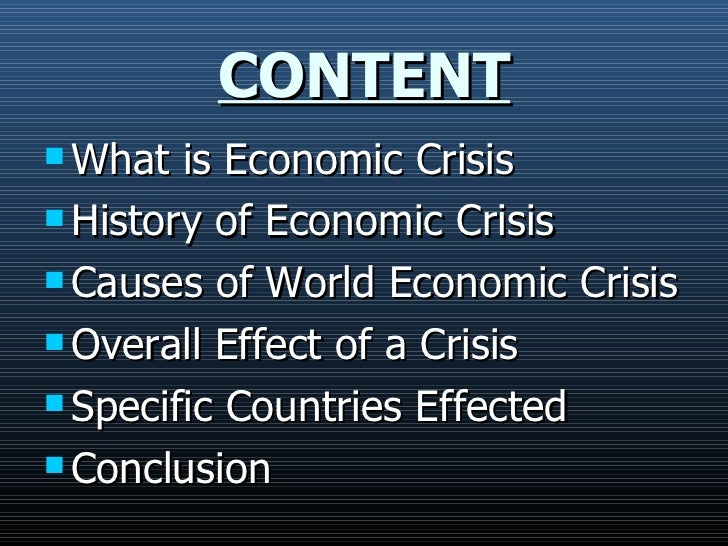 thesis in financial crisis Impact of economic c  monitoring the impact of economic crisis on crime  the analysis examines in particular the period of global financial crisis in 2008/2009.