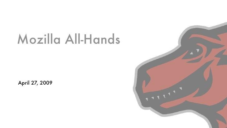 Mozilla 2009 All Hands