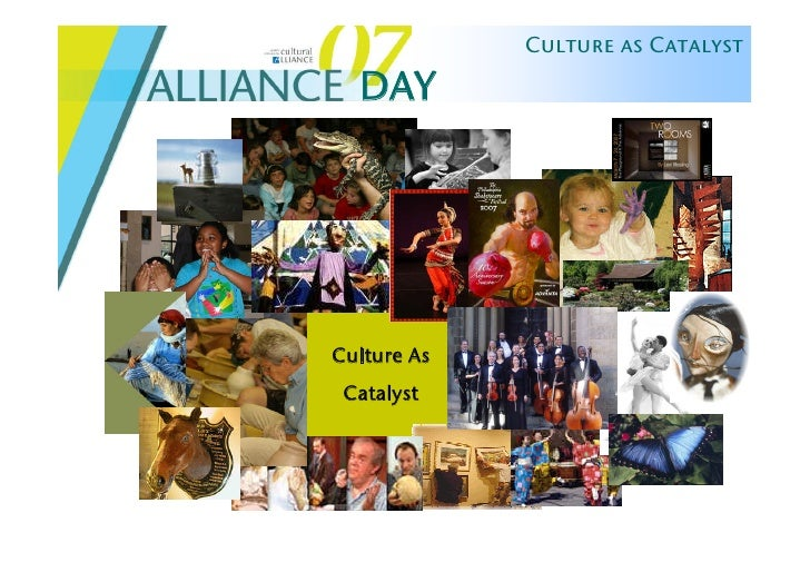 Culture as Catalyst    DAY     Culture As  Catalyst