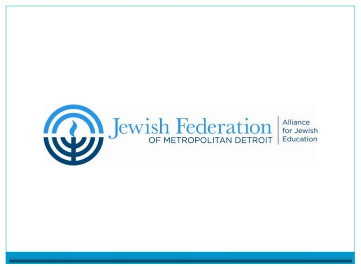 Mission StatementFederation's Alliance for Jewish Education serves as thecommunity's central address for Jewish education ...