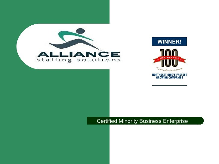 Alliance Staffing Solutions Master