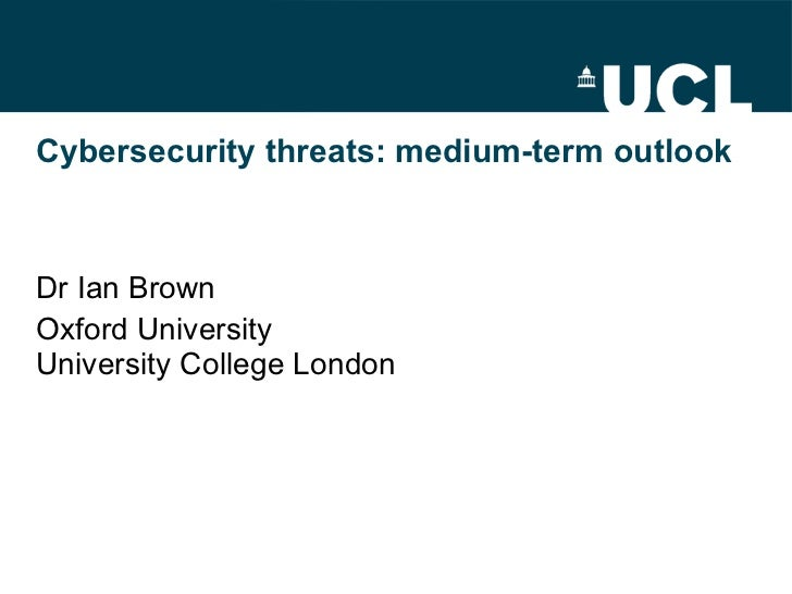 Cybercrime: medium-term outlook