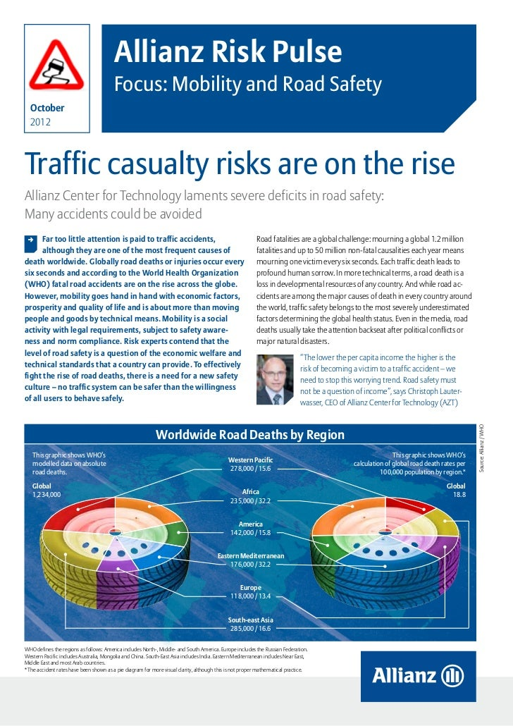 Allianz Risk Pulse Mobility & Road Safety