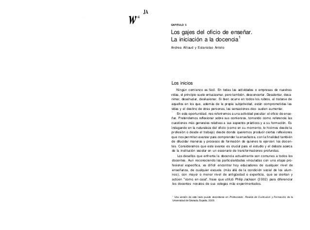 Alliaud antelo los-gajes_del_oficio_de_ense%c3%b1ar._cap_5