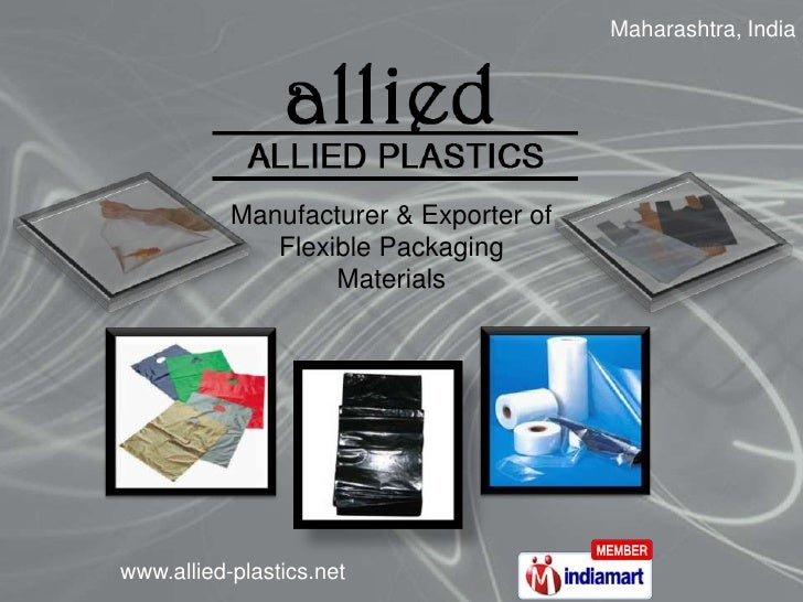 Maharashtra, India <br />Manufacturer & Exporter of Flexible Packaging Materials<br />