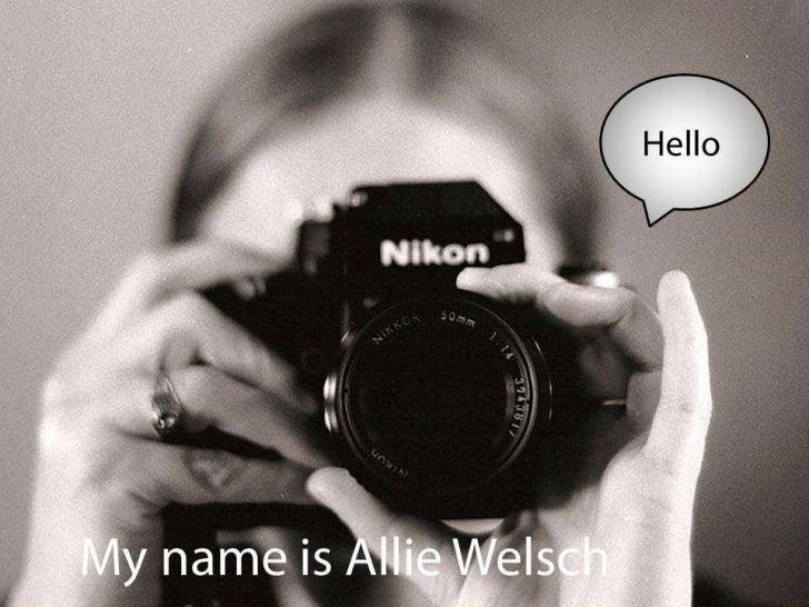 Resume-Allie Welsch