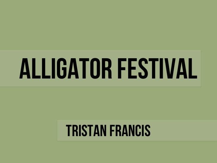 2012 Alligator Festival