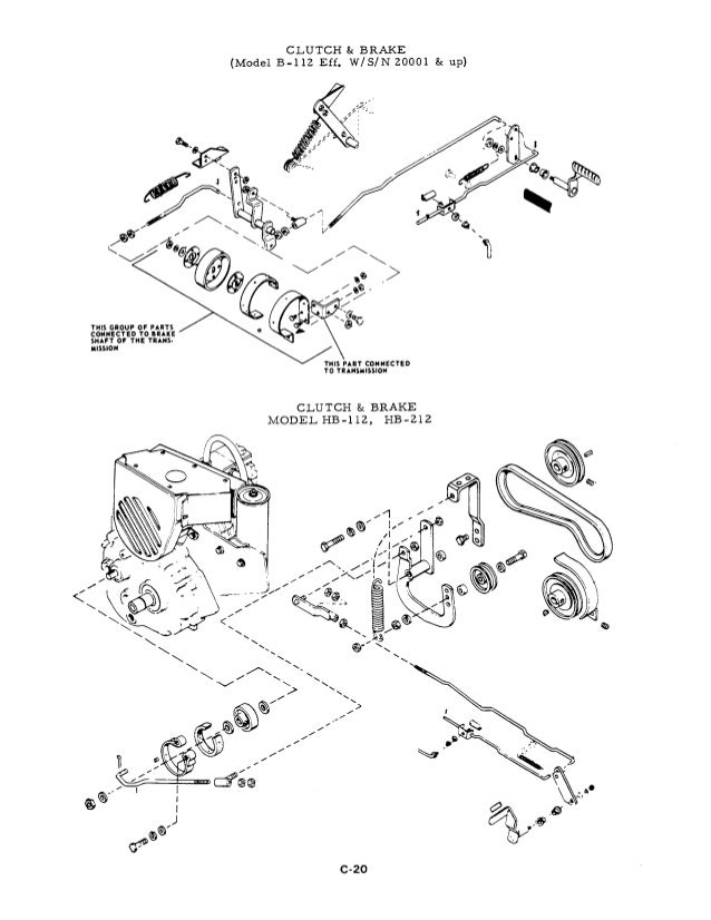 Allis Chalmers Clutch And Transmission Diagram. Diagram