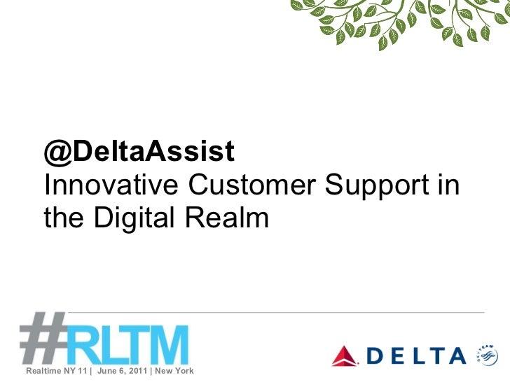 Allison Ausband, Delta at #RLTM NY 11