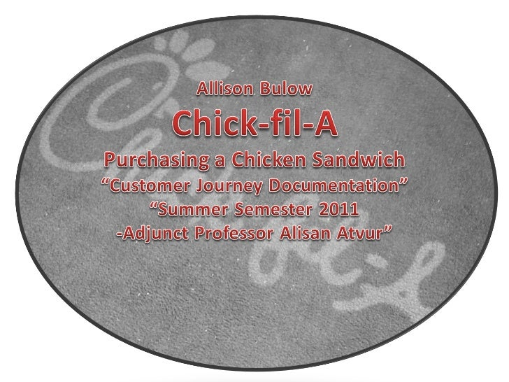 Navigation of Chick-fil-A: In-store and Online