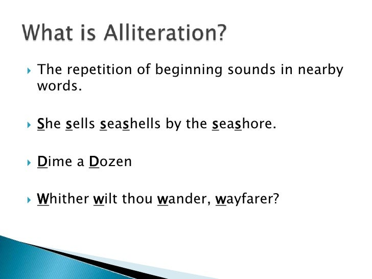 New Examples Of Alliteration Consonance And Assonance Example