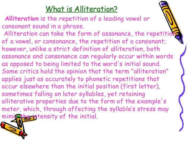 alliteration with the letter l example