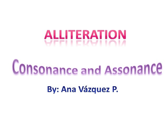 Assonance Definition Alliteration & assonance