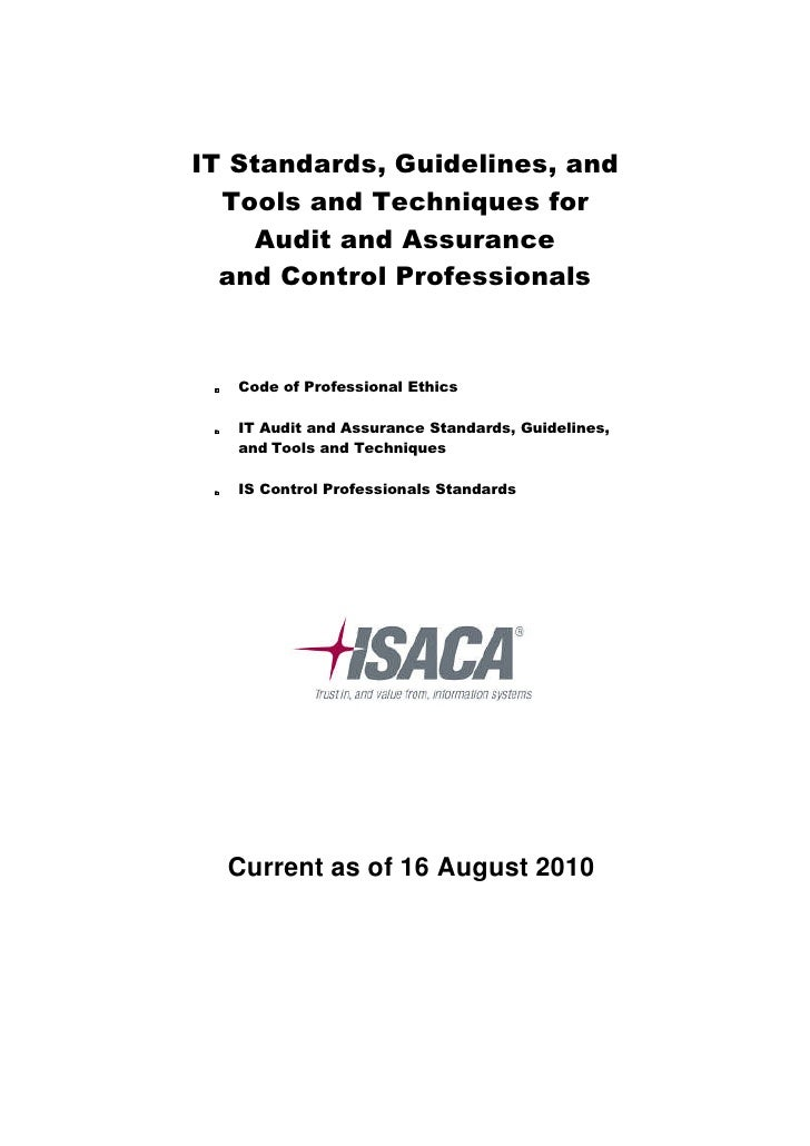 All It Standards Guidelines And Tools