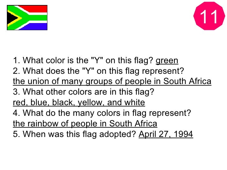 What does it mean to be a South African?