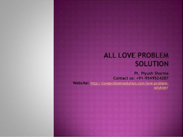 all love problems solution. Black Bedroom Furniture Sets. Home Design Ideas