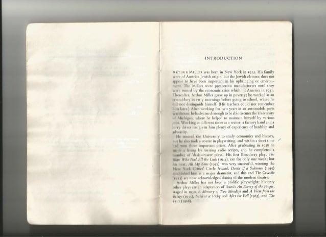 All My Sons by Arthur Miller | Thomas Joyner, Ph.D.