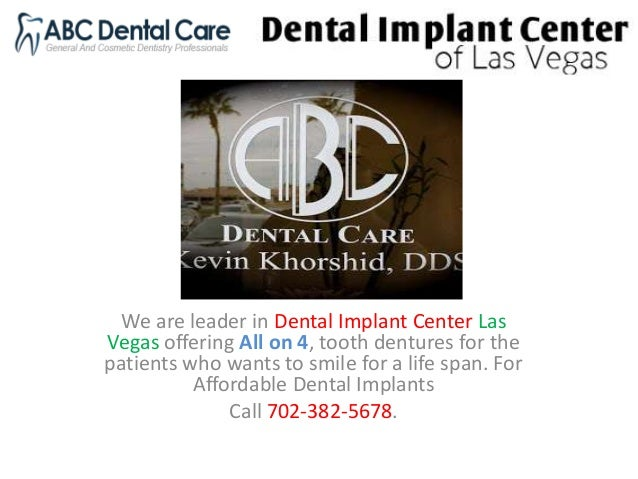 We are leader in Dental Implant Center Las Vegas offering All on 4, tooth dentures for the patients who wants to smile for...