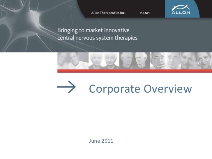 Corporate Overview<br />June 2011<br />