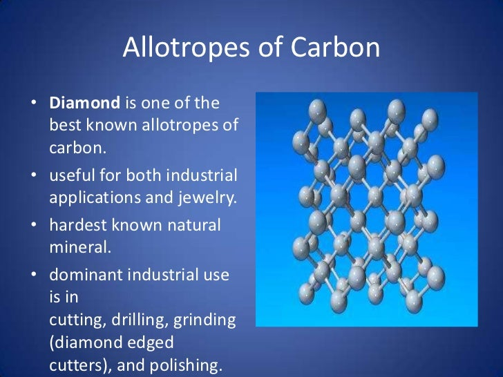 properties of allotropes of carbon Allotropes are different physical forms of same element so it is not necessary that they have same chemical properties, like in case of carbon, diamond, graphite and fullerene, all three of them have different chemical properties so in short all.