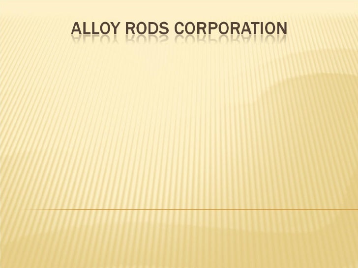 Alloy Rods Corporation