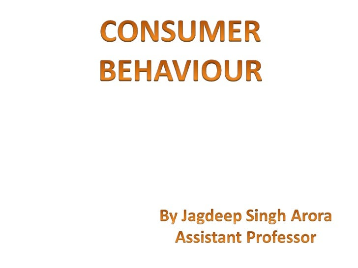 All ppts consumer b