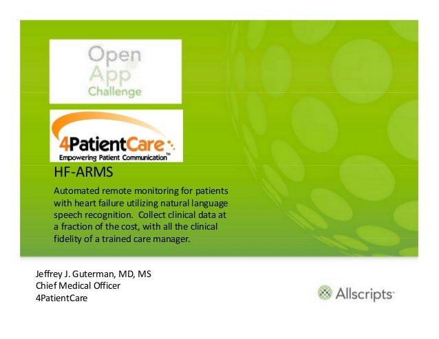 HF-ARMS    Automated remote monitoring for patients    with heart failure utilizing natural language    speech recognition...