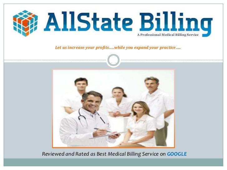 Allstate Billing Marketing Brochure