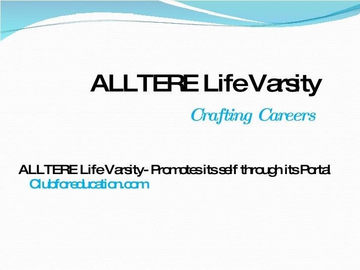 Alltere Life Varsity - Online Learning