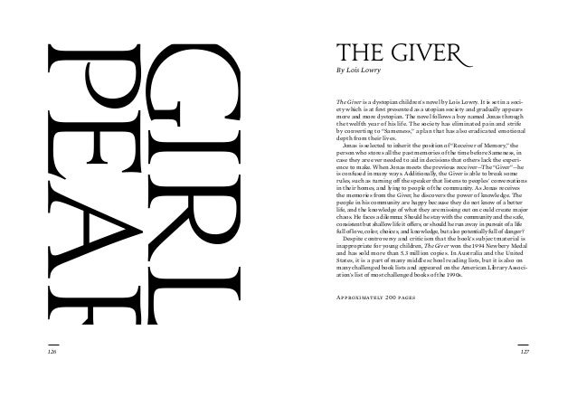 an introduction to the essay on the topic of the giver and the reciver The giver essay i am writing a persuasive essay on the giver and how jonas changes throughout the story i must come up with 3 ways he changes, but i need some help on some evidence on them.