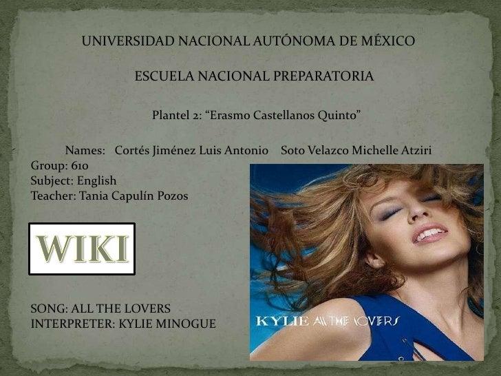 """UNIVERSIDAD NACIONAL AUTÓNOMA DE MÉXICO<br />ESCUELA NACIONAL PREPARATORIA<br />Plantel 2: """"Erasmo Castellanos Quinto""""<br ..."""