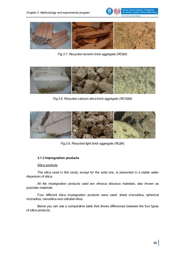 thesis recycled aggregate concrete
